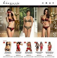 Established Profitable Lingerie Store Turnkey Dropship Website Business For Sale