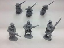 EWM Ww1brit33 1/76 Diecast WWI 3 British Highland Infantrymen Advancing