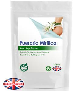 Pueraria Mirifica 2500mg (30/60/90/120/180 Tablets) Kwao Krua, Menopause, UK (V)
