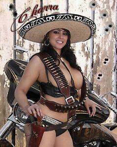 Sexy Mexican Bandito - Pin Up Babe - 8 x 10 Photo