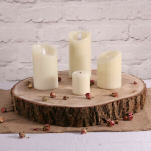 Large Wood Slices | 40-47cm Log Slices | Tree Trunk Wooden Discs Cakes Events