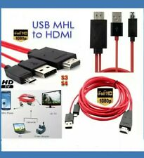 MHL USB to HDMI HD TV Adapter Cable for Samsung Galaxy Tab 3 10.1 8.0 Tablet 2M.