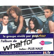 Whatfor - L' Album de Popstars (CD)