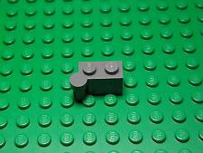 Lego NEW dark bluish gray  1x2 modified bricks w/ swivel--top & bottom   2 sets