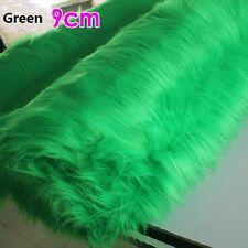 Plush Faux Fur Fabric Cloth Mat Craft Decoration DIY Upholstery Multi-functional