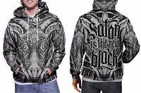 Baphomet Satanic New Hoodie Mens