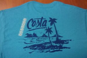 Blue Costa Del Mar Americosta Short Sleeve T-shirt Pick Size-Free Ship