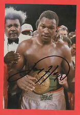 Orig. Autograph Larry Holmes (USA) - WBC/IBF Heavyweight World Champion!!! Top