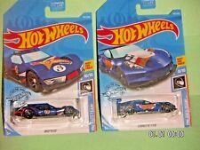 2 HOT WHEELS  Driftsa + Corvette C7.R  HW RACE TEAM  K CASE