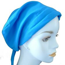Ladies Solid 100% Cotton Chemo Cancer Cool Weather Alopecia Hats Many Colors