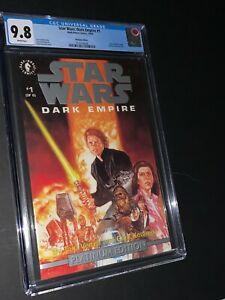 Star Wars Dark Empire #1 Platinum Edition CGC 9.8