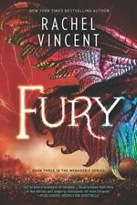 Fury by Rachel Vincent 2018 The Menagerie: 3 Fantacy ARC PROOF Paperback