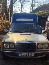 krankenwagen wohnmobil Mercedes W 123 D