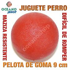 JUGUETE MORDEDOR PERRO PELOTA GOMA MACIZA MUY RESISTENTE 9 cm DIAMETRO L149 2983