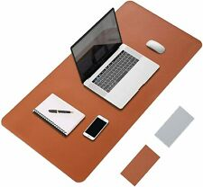 More details for mouse pad large mouse mat 80*40cm extended pu leather desk writing matt