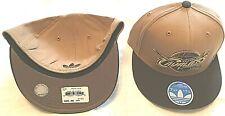 CLEVELAND CAVALIERS FLAT BRIM FLEX FIT PICK YOUR SIZE FASHION NBA CAP/HAT ADIDAS