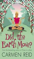 Did The Earth Move?, Reid, Carmen, Very Good, Mass Market Paperback