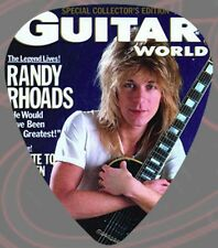 Randy Rhoads - Guitar Pick -Guitar World Ozzy-Quiet Riot- Pack Of 2-LICENSED NEW