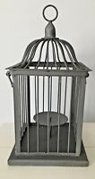 BIRD CAGE CANDLE HOLDER Rustic Country Primitive Farmhouse Decor 15 Tall
