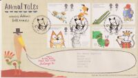 MOUSEHOLE GB ROYAL MAIL FDC FIRST DAY COVER 2006 ANIMAL TALES SET N0 INSERT