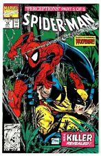 SPIDER-MAN #12 NM WOLVERINE! WENDIGO! PUCK! SASQUATCH! 1991 Todd Mcfarlane Art!