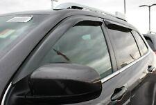 Jeep Cherokee 2014 - 2019 Tape-On Wind Deflector Vent Visor Shades 4pc