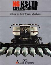 Allis Chalmers Sales Brochure Gleaner N6 KS L.T.D. Combine 1983 kpc1