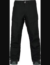 Burton AK Swash Gore-Tex Snowboard Pants Black Size Large Men