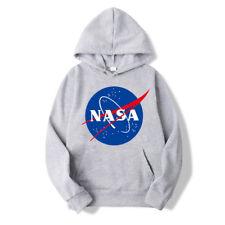 NASA Hoodie Pullover Sweaters Hoodies Men&Women Tops Unisex Sweatshirts Outwear