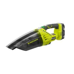 Ryobi P714K 18-Volt ONE+ Cordless EVERCHARGE Hand Vacuum Kit Batt & Charger
