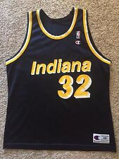 Vintage Indiana Pacers Dale Davis #32 Champion Jersey Mens Sz XL 48
