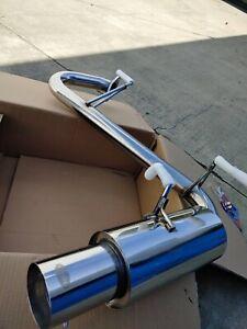 Mutazu Aggressive Axle-Back Exhaust Muffler For Mazda Miata NB 1999-2005 T-304