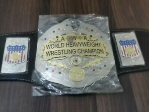 AWA World Heavyweight Wrestling Championship Replica Belt Adult Size