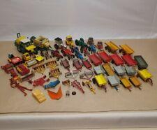 GIANT Vintage Tractor / Farm Machinery Joblot - Dinky - Corgi - Lesney - Siku