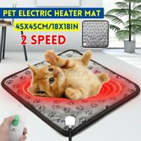 Haustier Heim Elektrisch Decke Katze Hund Bett Verstellbar Wärme Heizung Matte 2