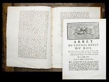 1785 illégalement bookselling séquestration of Books à Nancy