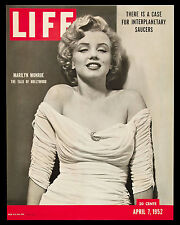MARILYN MONROE APRIL 7, 1952 LIFE MAGAZINE COVER 8X10 GLOSSY PHOTO PICTURE