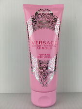 VERSACE BRIGHT CRYSTAL ABSOLU 3.4 OZ 100 ML PERFUMED BODY LOTION NEW TUBE UNBOX