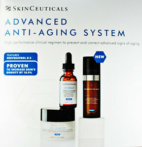 Skinceuticals Advanced anti-aging System Resveratrol,Ferulic,Age interrupter NEW