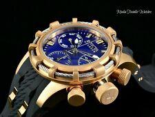 Invicta Reserve Women's Bolt Swiss Quartz Rose Gold Bezel Black Silicone Watch