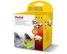 Original Kodak 10 Black & Colour Ink Cartridges for ESP 3 Series Printers - Pack of 2
