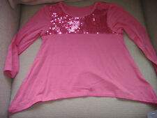 Mothercare Pink Sequin Top