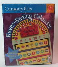 Never-Ending Calendar by Curiosity Kits --  New in Box
