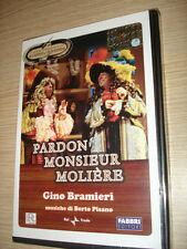 DVD PARDON MONSIEUR MOLIERE CON GINO BRAMIERI GARINEI GIOVANNINI TEATRO COMMEDIA