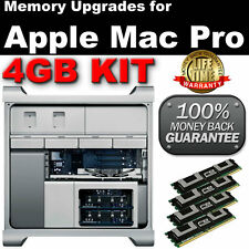 4gb (2x 1gb) Ddr2 667mhz Fb Dimm Apple Mac Pro Dual Core Memoria Upgrade Kit libras del Reino Unido