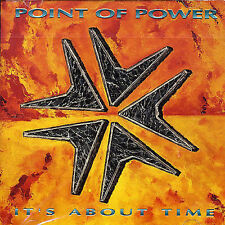 POINT OF POWER-IT`S ABOUT TIME  CD NEW