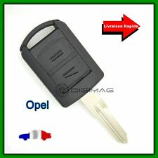Coque Clé Télécommande Plip Opel Corsa Agila Meriva + Lame dents