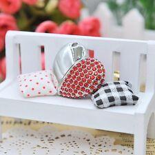 Chiavetta USB Pendrive 16Gb- Cuore Gioiello Strass Rosso-DA ITALIA-IDEA regalo