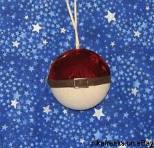 New Pokemon Pokeball Look Alike Christmas Ornament From Amish Country Ohio USA