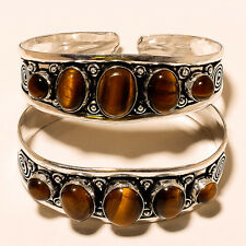 Gemstone Handmade Fashion Jewelery V140 Silver Overlay Bangel Cuff Ring Pendant